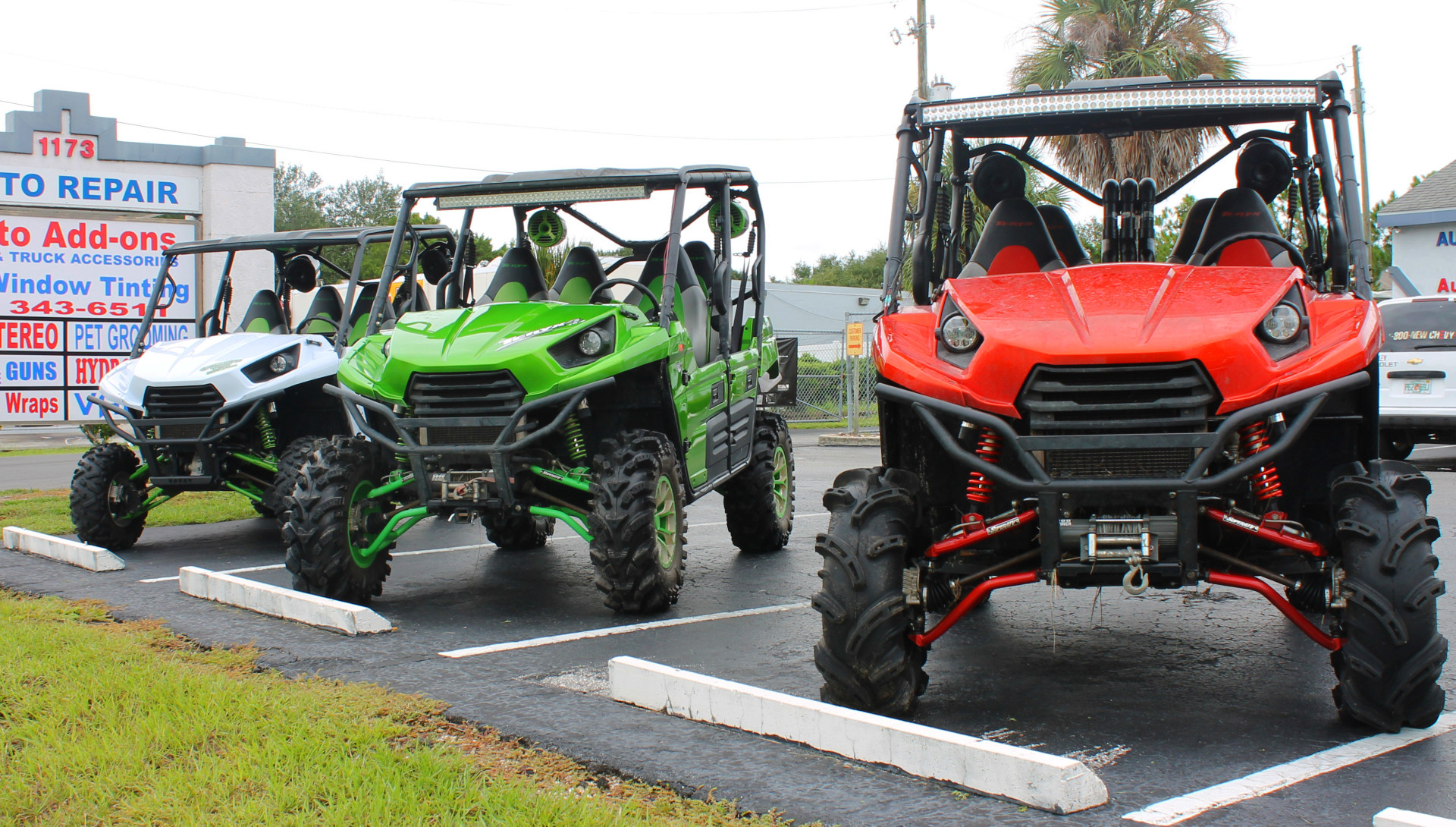 OUTSIDERS KUSTOM – ATV & UTV ACCESSORIES